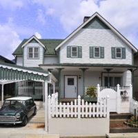 輸入住宅(赤毛のアンの家)の外観