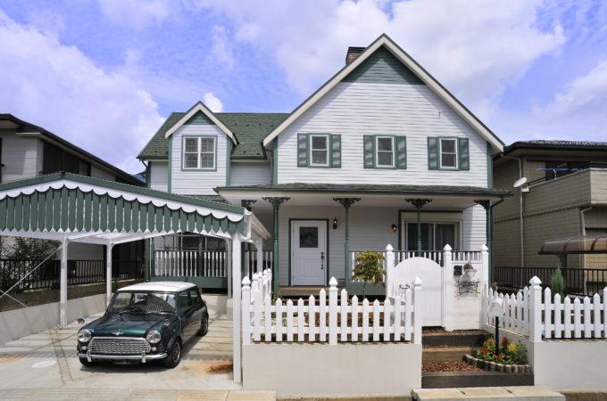 輸入住宅(赤毛のアンの家)