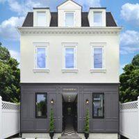 パリスタイルの輸入住宅