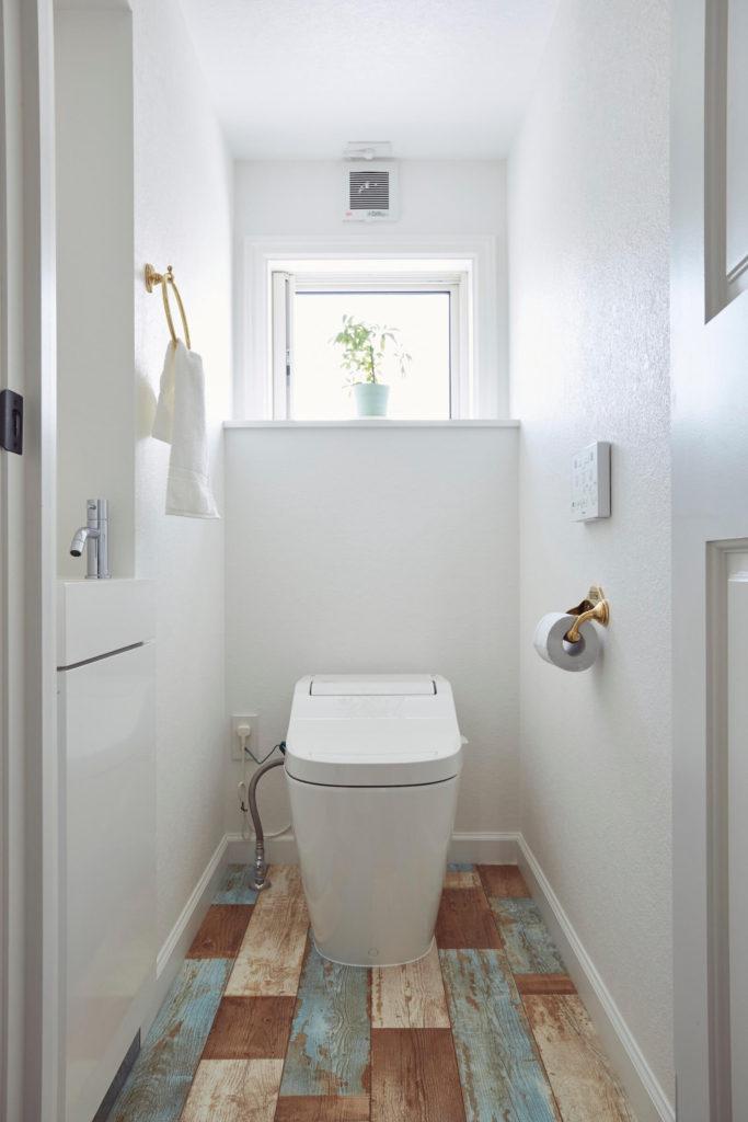 アメリカンハウスのトイレ
